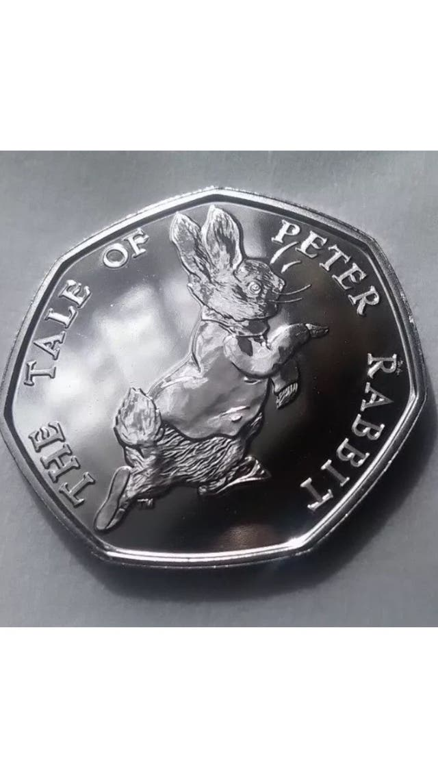 50p coin the tale of peter rab