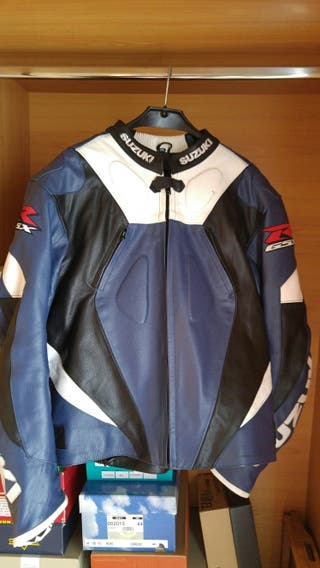 Chaqueta suzuki GSXR azul