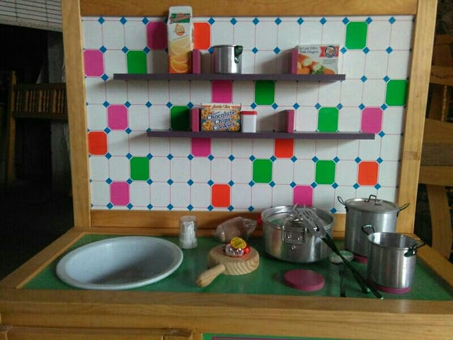 Cocina madera ni os juguete de segunda mano por 59 en - Cocina ninos juguete ...