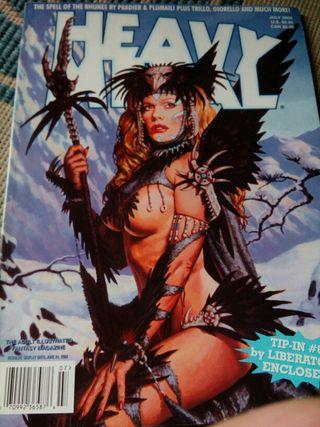 comics Heavy Metal.