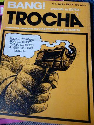 Revista cómics TROCHA
