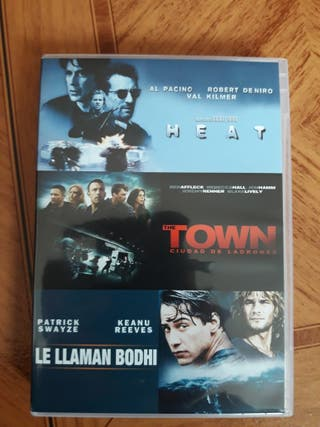 Pack Peliculas Dvd: Heat, Le llaman Bodhi y The To