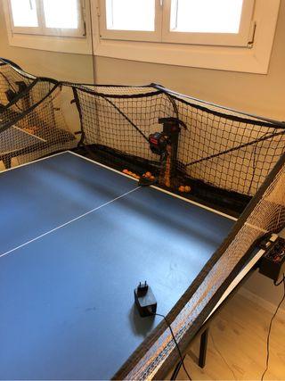 Robo pong maquina pingpong