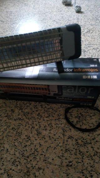 radiador infrarrojos