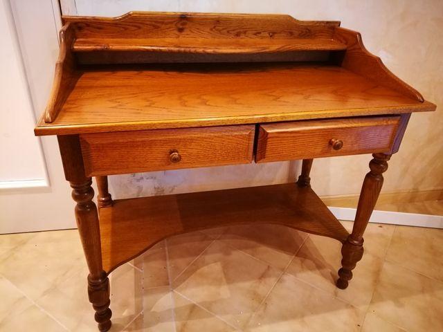 Mueble escritorio secreter como nuevo de segunda mano por 80 en zaragoza en wallapop - Mueble secreter ...