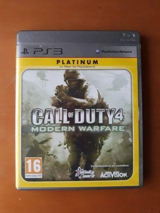 Call of Duty 4 Modern Warfare para Ps3