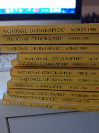Revistas National Geographic