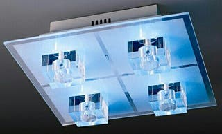 Lámpara de Diseño y LEDS con mando a distancia