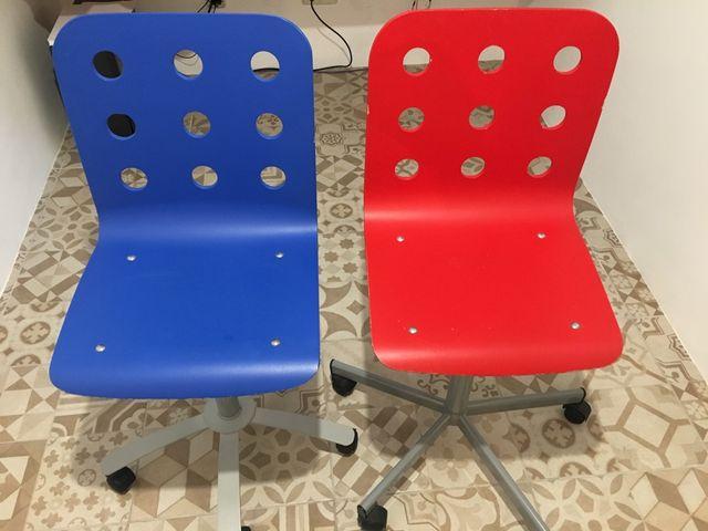 Silla oficina IKEA con ruedas de segunda mano por 10 € en ...