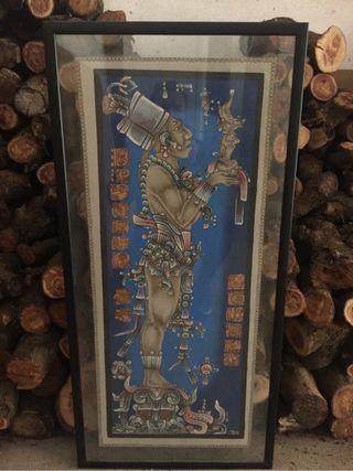 Cuadro Tapiz maya