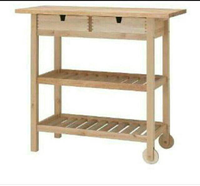 Mueble auxiliar de cocina de ikea de segunda mano por 40 € en ...