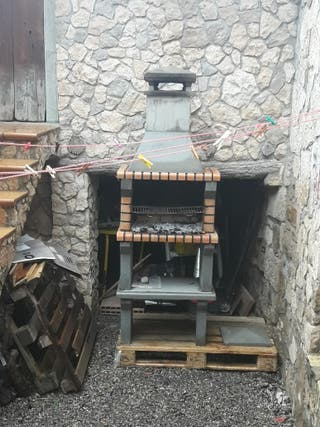 Barbacoa prefabricada