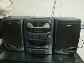 radio caset con cd
