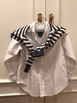 Camisa blanca Ralph Lauren