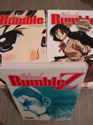 School Rumble. Tomos del 1 al 18 + especial