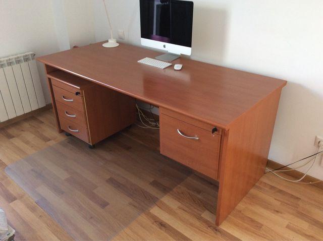 Mesa despacho / oficina / escritorio de segunda mano por 100 € en ...
