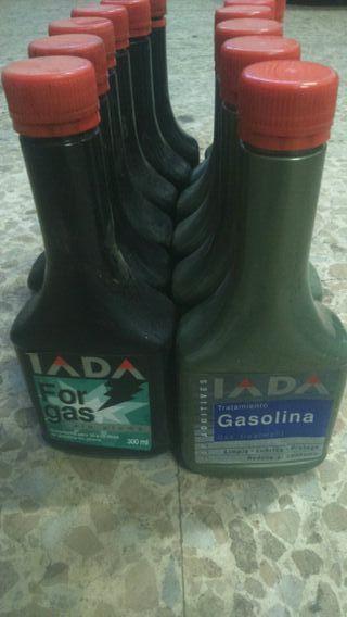 Tratamento Gasolina limpia lubrica protege