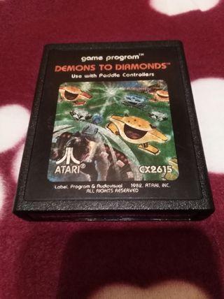 Juego Atari VCS 2600 DEMONS TO DIAMONDS
