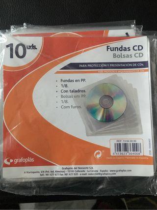 Fundas CD, DVD