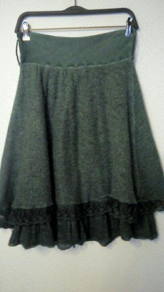 Falda de punto talla 34-36