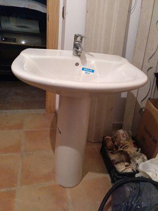 lavabo completo mas griferia