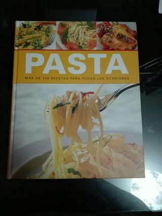 Libro recetas de pasta