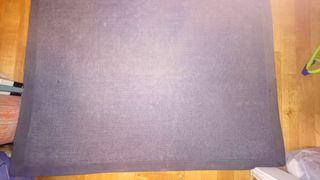 Alfombra de lana, azul, marca Kelaty