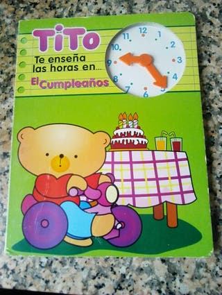 Tito te enseña las horas en...el Cumpleaños.