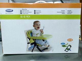 silla para comer los bebés , muy práctica