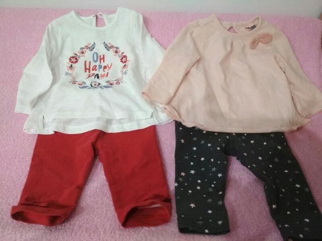 Ropita bebe niña de segunda mano por 10 € en Oliva en WALLAPOP 21bdbe10f884