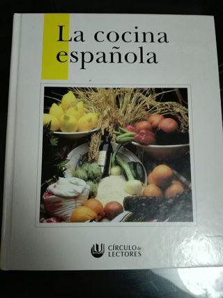 Libro la cocina española