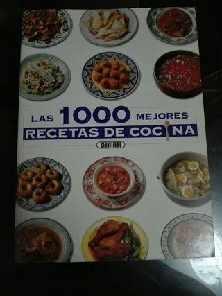 Libro 1000 Recetas de cocina