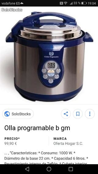 Olla Programable GM ...