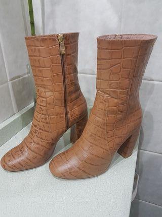 botines cuplé