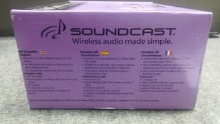 SOUNDCAST SUBCAST WIRELESS SUBWOOFER KIT SCK-520