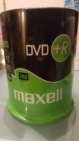 Bobina DVD regrabables