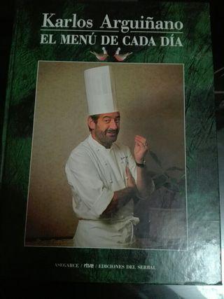 Libro Recetas Carlos Arguiñano
