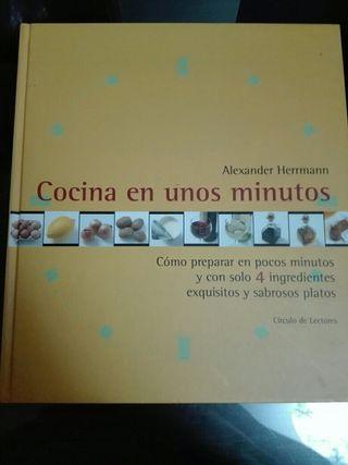 Libro cocina en unos minutos
