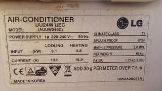 Placa electronica aire acondicionado lg