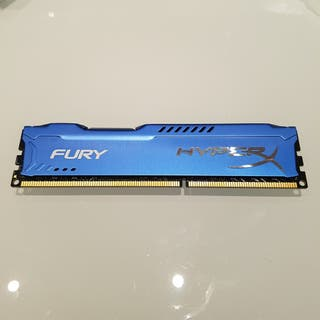 Memoria Kingston Hyper x Fury ddr3 8gb