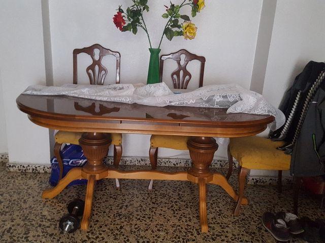 Mesa comedor Vintage de segunda mano por 40 € en Elda - wallapop