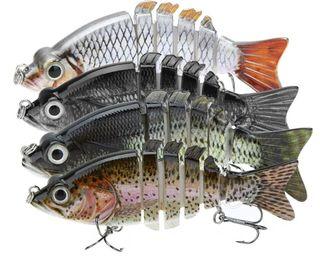 señuelos de pesca swimbait artificiales