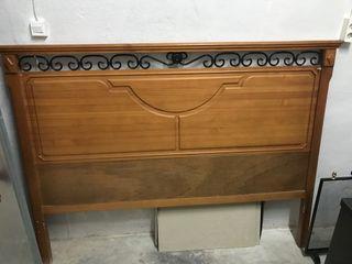 Cabecero madera
