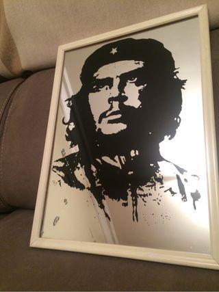 Cuadro espejo Che Guevara
