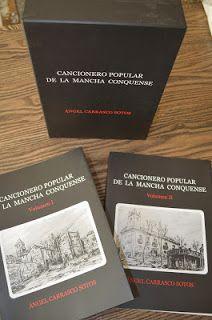 Libro Cancionero popular de la Mancha conquense