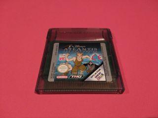 Disney's Atlantis - The Lost Empire Game Boy Color