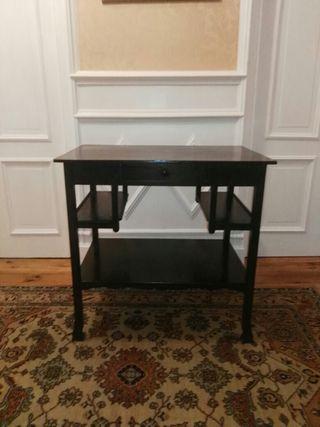 Mesa escritorio antigua auxiliar tocador