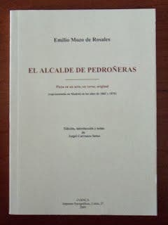 El alcalde de Pedroñeras Libro