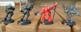Warhammer 40k Exploradores de plomo