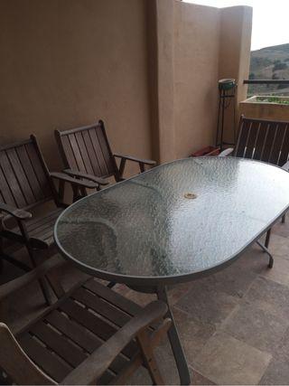Patio/balcony set
